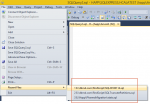 SQL Server: Remove recent file history from the File Menu