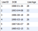 MySQL: The finest solution for calculating Age from Date of Birth