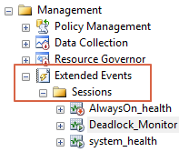 SQL Server Extended Event For Deadlock In SSMS