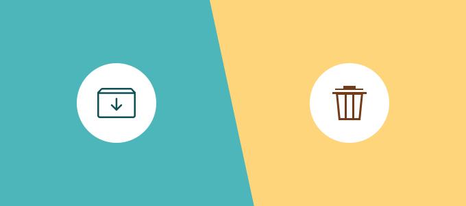 Archive vs Delete