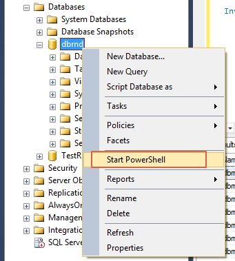 SQL Server PowerShell