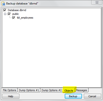 PostgreSQL: Generate full Database Script using PGAdmin Tool