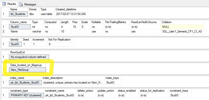 SQLServer File Group Migration 2